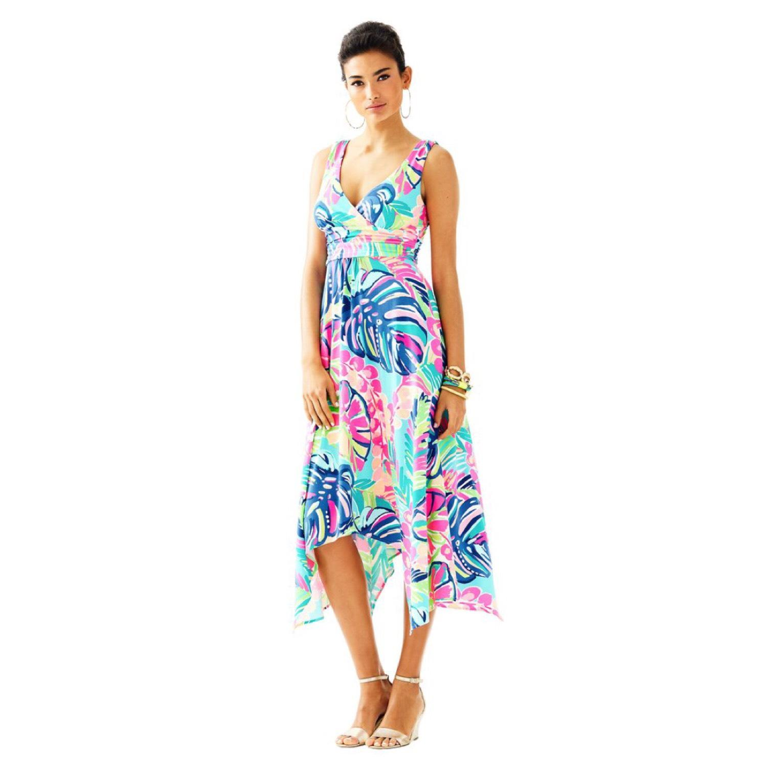 Lilly Pulitzer Free Shipping Sloane Fit And Flare Mid Length