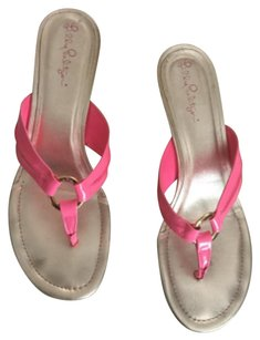 Lilly Pulitzer Mckim Mckim Wedges pink Sandals
