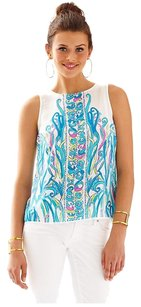 Lilly Pulitzer Top Resort White Long Story