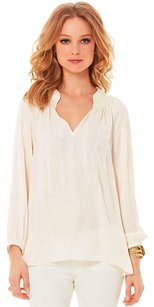 Lilly Pulitzer Top cream