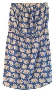 Lilly Pulitzer short dress blue/white Windsor on Tradesy