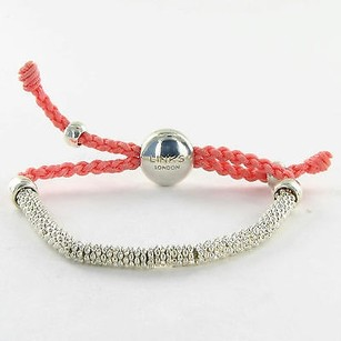 Links of London Links Of London 5010.2065 Bracelet Effervescence Coral Cord 925