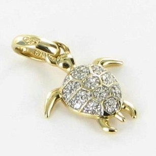 Links of London Links Of London 5030.2338 Charm Pendant Turtle Diamonds 18k Yellow Gold
