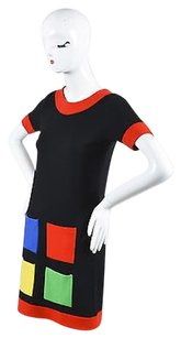 Lisa Perry short dress Multi-Color Black Red on Tradesy
