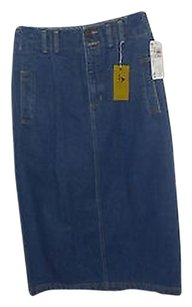 Liz Claiborne Jeans Skirt JEANS COLOR
