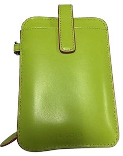 Lodis Lodis Green Pink Smartphone Holder With Coin Pouch And Id Slot B3340
