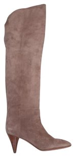 Loeffler Randall Suede Taupe Boots