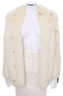 LONDON COUTURE Vintage Rabbit Fur Fur Coat
