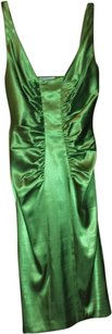 London Times Satin Lime Prom Evening Dress