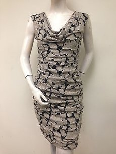London Times Taupe Lace Dress