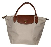 Longchamp Le Pliage Tote in Ivory