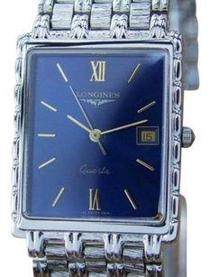 Longines Longines Flagship Mens Swiss Made White Gold-plated Dress Watch C2000 D6
