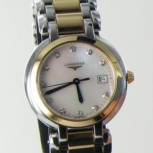 Longines Longines Primaluna L81125876 18k Rose Steel Mop Dial Date Ladies Watch