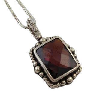 Lori Bonn Lori Bonn Bons Midnight Kiss Pendant January Birthstone W Chain