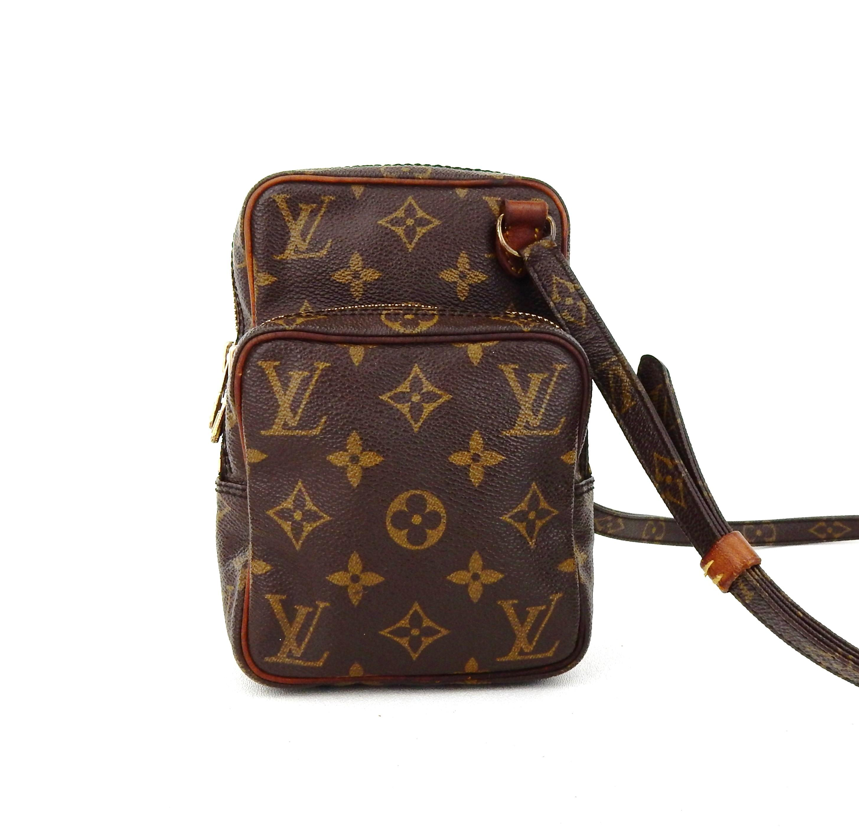 Louis Vuitton Amazon Vintage Mini France Brown Monogram ...