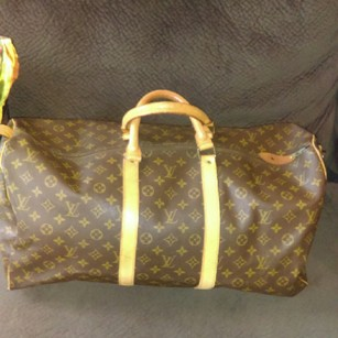 Louis Vuitton Bandoulier 50 Travel brown monogram Travel Bag