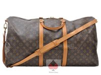 Louis Vuitton Bandouliere Monogram Brown (Guaranteed Authentic) Travel Bag