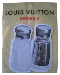 Louis Vuitton Brand New Limited Edition Novelty Sticker for Bags Wallets (Vernis, Damier, EPI, )