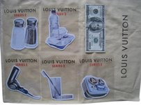 Louis Vuitton Brand New Limited Edition Novelty Stickers for Bags Wallets (Vernis, Damier, EPI, )