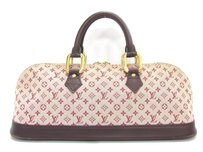 Louis Vuitton Brera Damier Canvas Leather Checkered Totes Satchel in brown