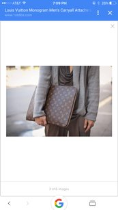 Louis Vuitton Briefcase Lv Messenger Laptop Bag