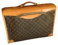 Louis Vuitton caramel and brown Travel Bag
