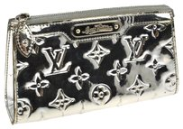 Louis Vuitton Silver Clutch