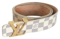 Louis Vuitton Damier Azur Initials Belt