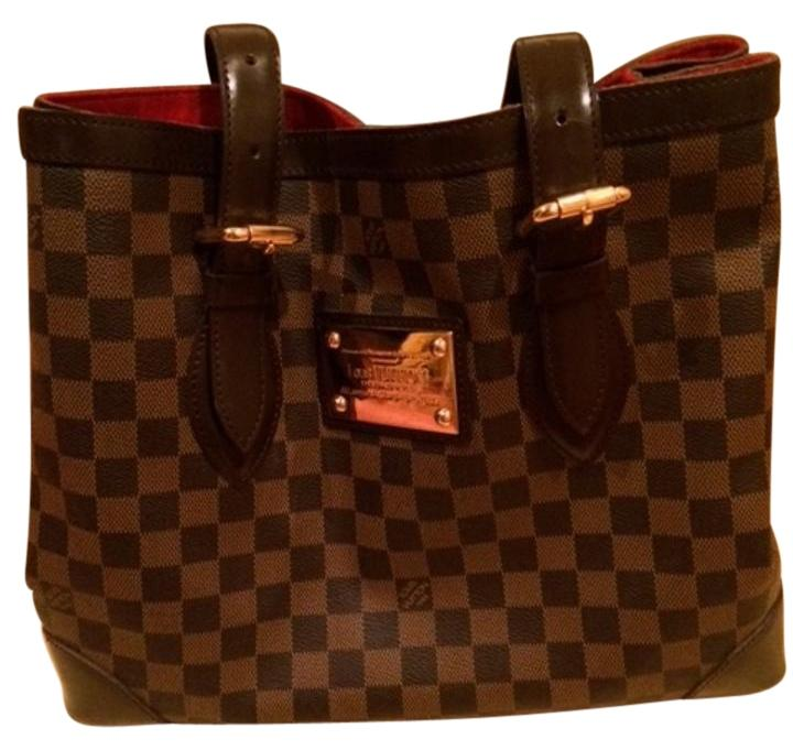 Louis Vuitton Damier Ebene Hampstead PM Brown