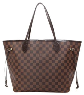 Louis Vuitton Damier Ebene Tote in Brown