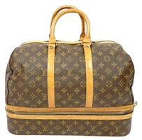 Louis Vuitton Duffle Evasion Excursion Carryall Shoe Monogram Travel Bag