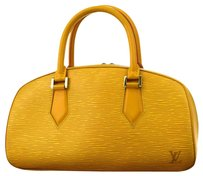 Louis Vuitton Hand Leather Tote in Yellow