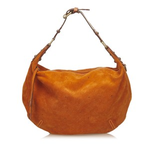 Louis Vuitton Leather Orange Shoulder Bag