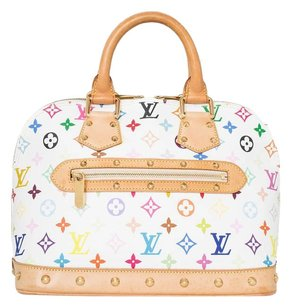 Louis Vuitton Leather Purse Tote in Multicolor
