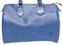 Louis Vuitton Leather Tote in Toledo Blue