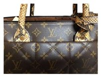 Louis Vuitton Limited Edition Monogram Tote in Brown