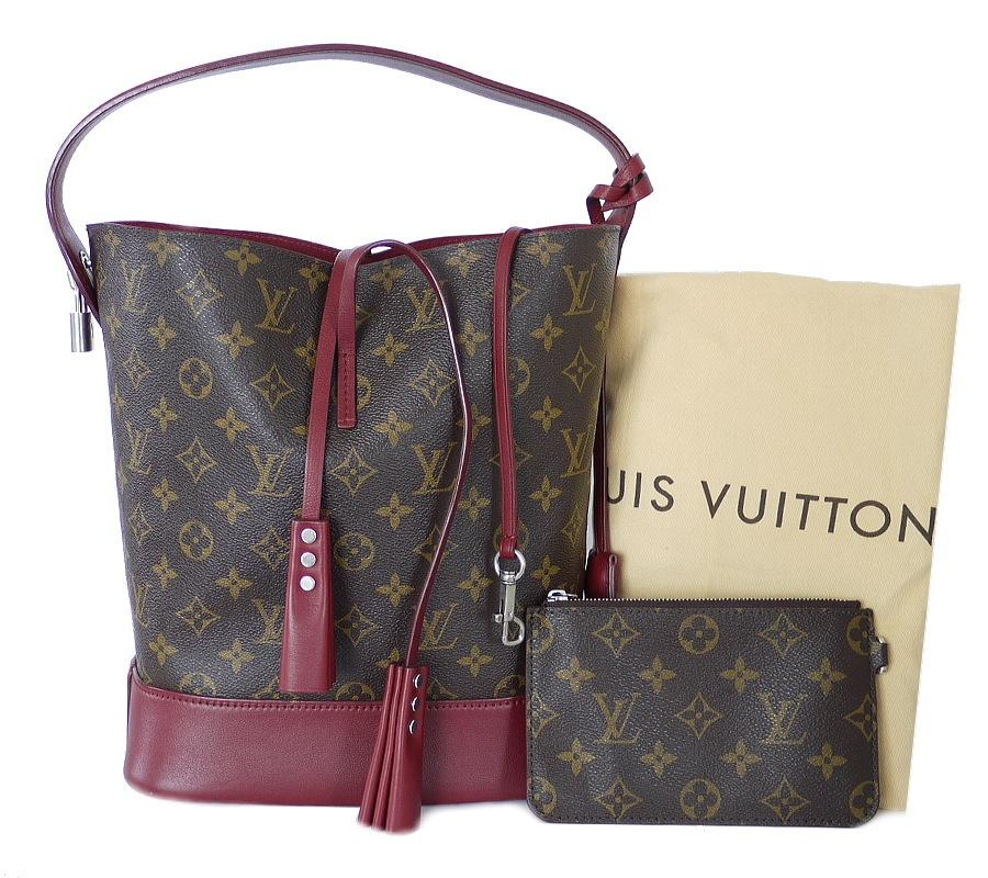 Louis Vuitton Limited Edition Rare Satchel in Rubis, Red