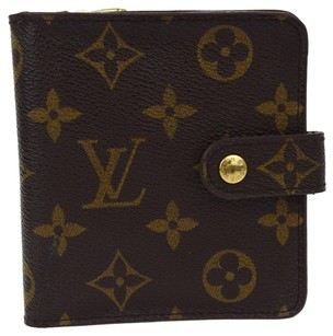 Louis Vuitton LOUIS VUITTON Compact Zip Bifold Wallet