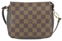 Louis Vuitton Louis Vuitton Damier Ebene Trousse make-up Cosmetic Pouch (Authentic Pre Owned)