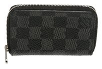 Louis Vuitton Louis Vuitton Damier Graphite Vertical Zippy Coin Purse