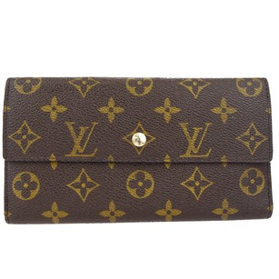 Louis Vuitton LOUIS VUITTON International Long Trifold Wallet