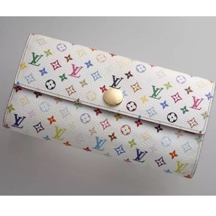 Louis Vuitton Louis Vuitton Porte Feuilles Sarah Multicolor Monogram Bifold Long Wallet