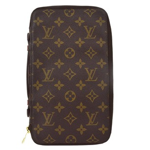 Louis Vuitton LOUIS VUITTON Travel Case Wallet Monogram
