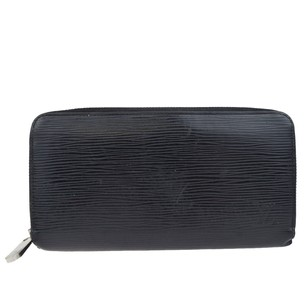 Louis Vuitton LOUIS VUITTON Zippy Bifold Black Wallet