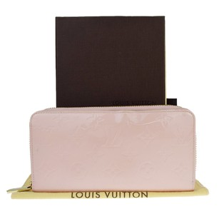 Louis Vuitton LOUIS VUITTON Zippy Long Monogram Vernis Patent Leather Wallet