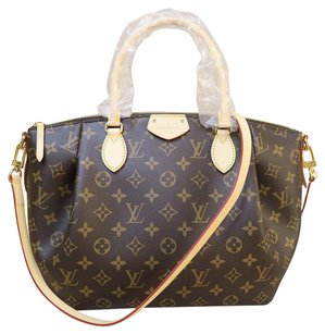 Louis Vuitton Lv Brand New Turenne Mm Satchel in monogram