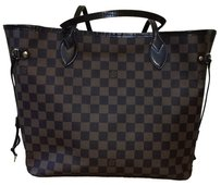 Louis Vuitton Lv Neverfull Tote in Damier