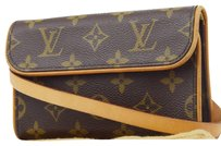 Louis Vuitton Monogram Leather Bum Cross Body Bag