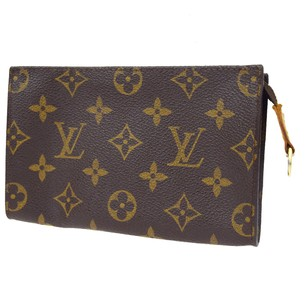 Louis Vuitton Monogram Leather Pouch Clutch