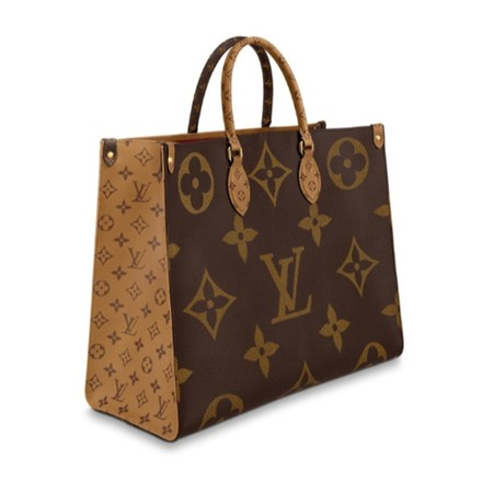 Louis Vuitton Tote in Brown Image 1